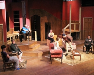 "(Drama Department/JSU) ""The Mousetrap"" is based on Christie's short story ""Three Blind Mice,"" a murder mystery set  in a snowy British winter."