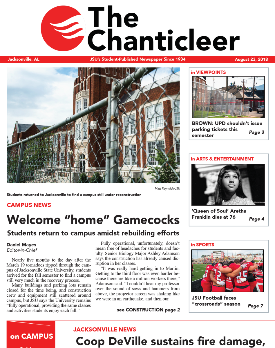 The chanticleer print edition 8 23 2018 the chanticleer for The chanticleer